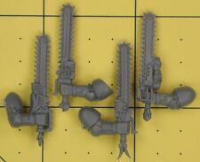 Warhammer 40K Space Marines Space Wolves Wolf Pack Chainswords
