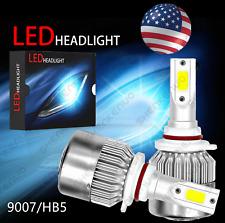 8000K Ice blue 9007 LED Headlight Kit Hi/Low Beam Light Bulb 8000LM High Power