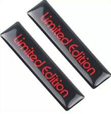 2x LIMITED EDITION AUFKLEBER XANNOX AUTO STICKER EMBLEM LOGO STYLING BADGE CAR