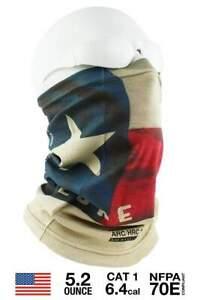 Benchmark FR 3049 Gaiter Mask - Texas Flag Fire Retardant - Fast Shipping