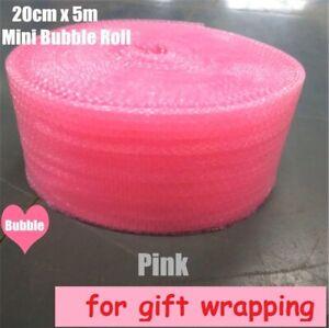 Wrapping 20cmx5m foam roll mini Pink Heart-shape Air Bubble wedding favors