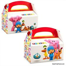 Pocoyo Party Boxes Favor 4PCS Supplies Birthday Decoration Treats Elephant BAGS
