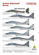 TECHMOD 1/48 Mikoyan MIG-29A/Mikoyan mig-29g/Mikoyan MiG-29UB Polish Air Force #