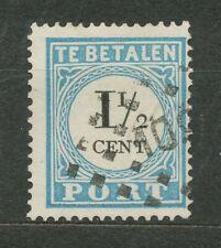 Nederland Port   4 A IV met puntstempel 109 (Veendam)