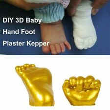 Handprint Footprint Cast Mould Baby Keepsakes Prints Kit Hand Foot Casting Kit