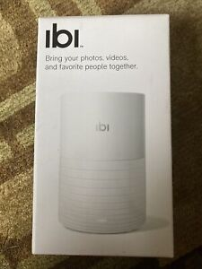 ibi Smart Photo Manager WiFi (1TB) (White) BRAND NEW IN BOX iOS  Android