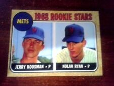 1968 ACEO  Nolan Ryan - ROOKIE - #157  New York Mets - Sharp..** 5 lot total **