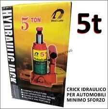 CRICK CRIC IDRAULICO 5 TONNELLATE BOTTIGLIA MARTINETTO PER CAMION IVECO DAILY