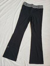 EUC Athleta Girl Boot Kicker Pants Size XL 14 Black Yoga Athletic