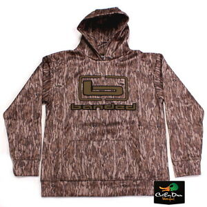 BANDED b LOGO HOODIE HOODED SWEATSHIRT BOTTOMLAND CAMO W/ OLIVE LOGO XL