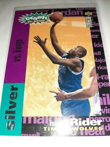 """Isiah Rider Silver """"Your Crash the Game"""" card."""