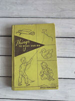 Vtg Child Horizons Things to Make and Do Childrens Arts Crafts Projects Book