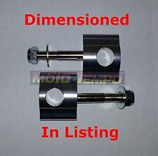 "CNC 15mm BAR RAISERS CLAMP RISERS FOR 7/8"" 22mm HANDLE BARS 7/8 22.2 Riser CR KX"