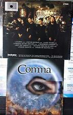 Comma - Elusive Dreams (CD, 2001, Hammer Muzik, Turkish Indie)