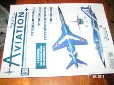 * Toute l'Aviation n°138 poster Mitsubishi F1/PC-7 PC-9