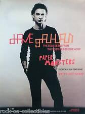 Depeche Mode David Gahan 2003 Paper Monsters Original Promo Poster