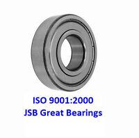 (2) 6203-ZZ metal shields bearing 6203 2Z bearings 6203ZZ 17x40x12 mm