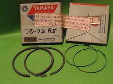 YAMAHA R5 R5B R5C 70-72 PISTON RING SETS 1ST OS. 0.25MM NOS OEM #278-11610-11-00