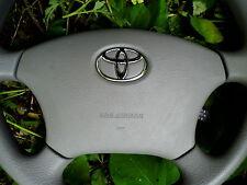 Toyota Sienna No Audio Driver/Left/Steering Airbag 04-05-06-07-08-09-10 Gray Oem