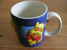 DISNEY WINNIE THE POOH  MUG/CUP  RAISED FEATURES - LONDON 2002 from DISNEY STORE