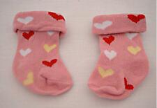 Heart Socks Fits 18 inch American Girl Dolls