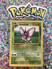 New Listing�� Venomoth Jungle Set Pokemon Card Wizards WotC Game Freak Nintendo 1999 �