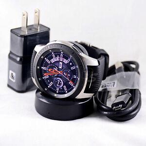 Samsung Galaxy Watch 46mm, GPS, Bluetooth, Unlocked LTE