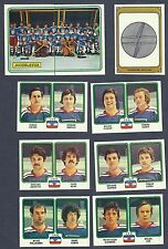 1979 Panini World Hockey Team Yugoslavia, Set of Nine