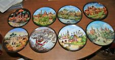 Bradford Exchange Jewels of the Golden Ring Russian plates complete set of 8