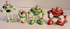 Disney Pixar Toy Story Buzz Lightyear Cake Toppers Action Figures Set of 4