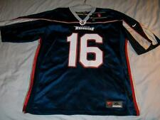 Fitzgerald 16 Austin Wranglers AFL Arena Football Jersey Blue Nike Men's XL New