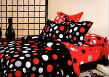 Welhouse India  Polycotton Circle Design 4Pcs Bedding Set