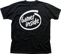 Gamer Inside black printed t-shirt FN9846
