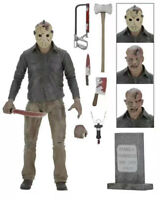"""1:12  Friday The 13Th Part Iii 3D Jason Voorhees Ultimate 7"""" Action Figure"""