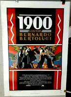 poster on linen Bernardo Bertolucci's 1900 1977 USA1sht LinenBacked ART DECO