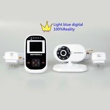 Motorola MBP18 Digital Video Baby Monitor wireless two way audio night visio