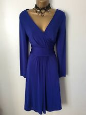 COAST royal blue dress size 18 vgc