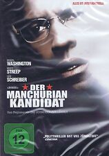 DVD NEU/OVP - Der Manchurian Kandidat - Denzel Washington & Meryl Streep
