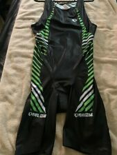 Nwot Men's Pearl Izumi Pro Series Tri Suit Xl Black