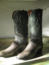 Breathtaking Vintage Custom AMMONS Reptilian Cowboy Boots!! Men's size 10-10.5