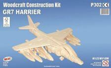 Eurofighter Typhoon Woodcraft Construction Kit-Airplane Wooden Model