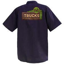 GMC Trucks  - Mechanics Graphic Work Shirt  Short Sleeve
