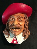 Cavalier Legends/Bossons Style  Chalk Ware Character Head