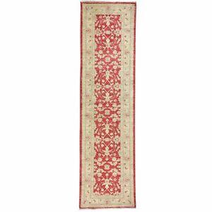Hand-Knotted Fine Oriental Peshawar Chobi Tribal Wool Rug 2.6 X 9.5 Brral-1755