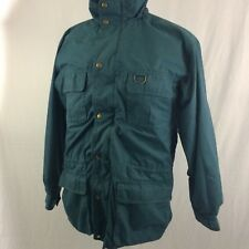 Vintage Eddie Bauer Wool Lined Mountain Parka XL Green Winter Coat Jacket Retro