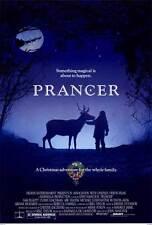 PRANCER Movie POSTER 27x40 Sam Elliott Rebecca Harrell Cloris Leachman Rutanya