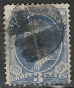 USA Scott #  O 37 Official Navy Department  3 Cent used  ( o37-3)