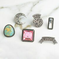 Pin Brooches Crystal Witch Backpack Badges Different Hard enamel lapel Hat Bag