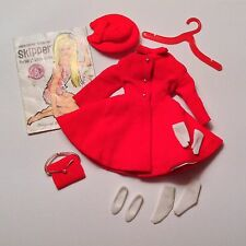 Barbie SKIPPER complete DRESS COAT NEAR MINT #1906