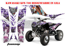AMR RACING DEKOR GRAPHIC KIT ATV KAWASAKI KFX 450 & 700 TSUNAMI B